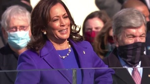 Kamala Harris sworn in as U.S. vice president